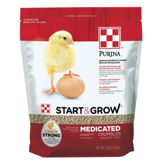 Purina® Start & Grow® Medicated 5lb