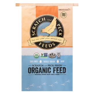 Naturally Free Organic Grower Chicken & Duck Feed 25lb