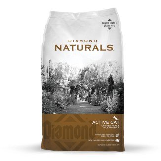 Diamond Naturals Active Cat Chicken Meal & Rice Formula 6lb