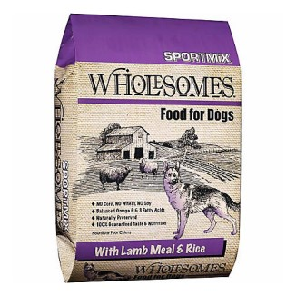 Wholesomes™ With Lamb Meal & Rice Formula Dog Food 40lb