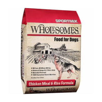 Wholesomes™ Chicken Meal & Rice Formula Dog Food 40 lb